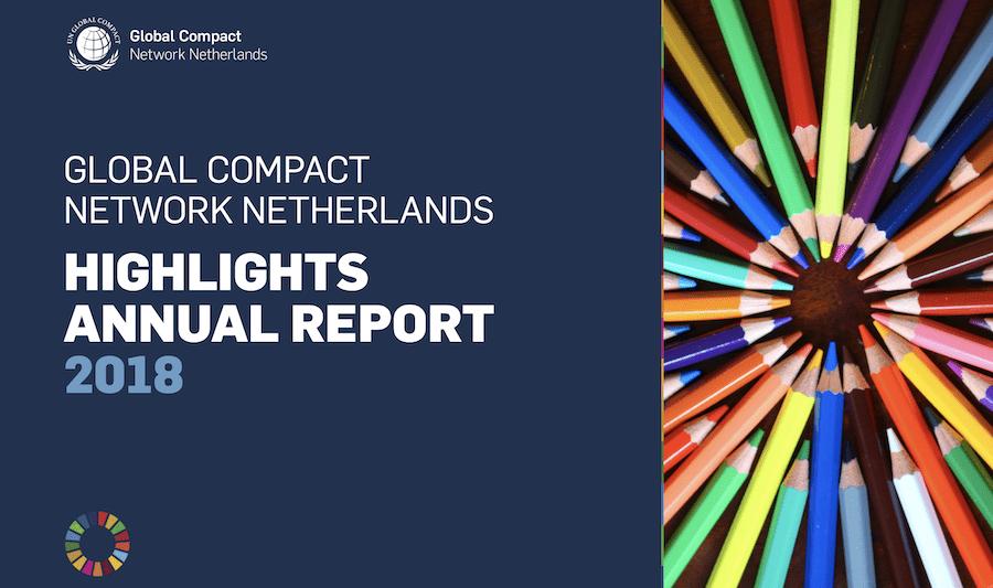 Jaarverlsag Global Compact NL